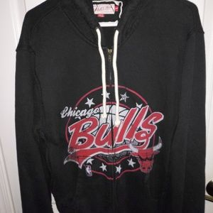 retro look Chicago Bulls Hood mitchell ness Mens